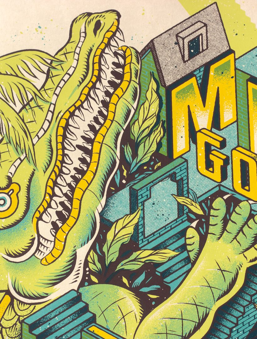 Mike Gordon Los Angeles Poster Gigposter by Paul Kreizenbeck