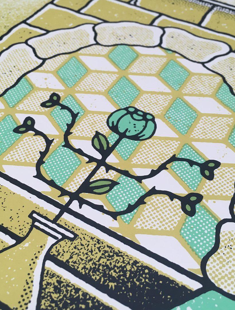 Ruins Art Print Illustration by Paul Kreizenbeck 3