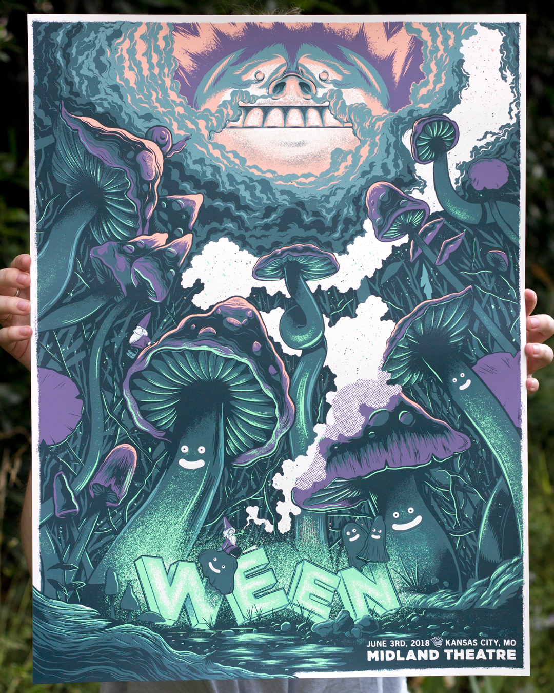 Ween Kansas City Poster Gigposter by Paul Kreizenbeck